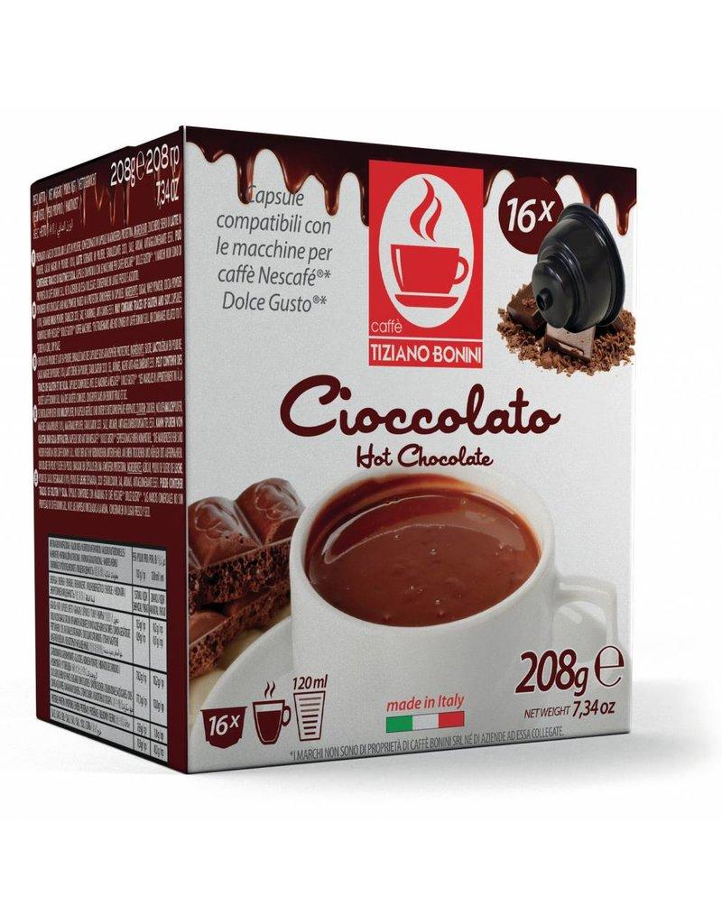 Caffè Bonini DOLCE GUSTO - CHOCOLAT - 16 capsules