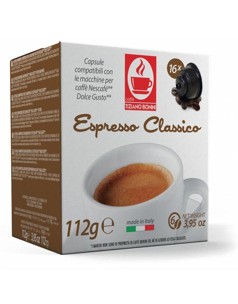 Caffè Bonini DOLCE GUSTO - CLASSICO - 16 capsules