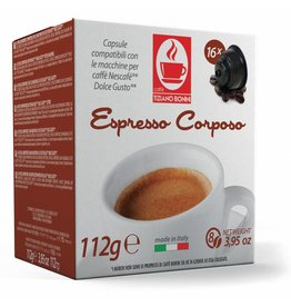 Caffè Bonini DOLCE GUSTO - CORPOSO - 16 capsules