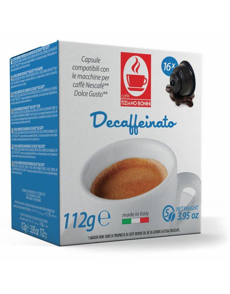 Caffè Bonini DOLCE GUSTO - DECAFFEINÉ - 16 capsules