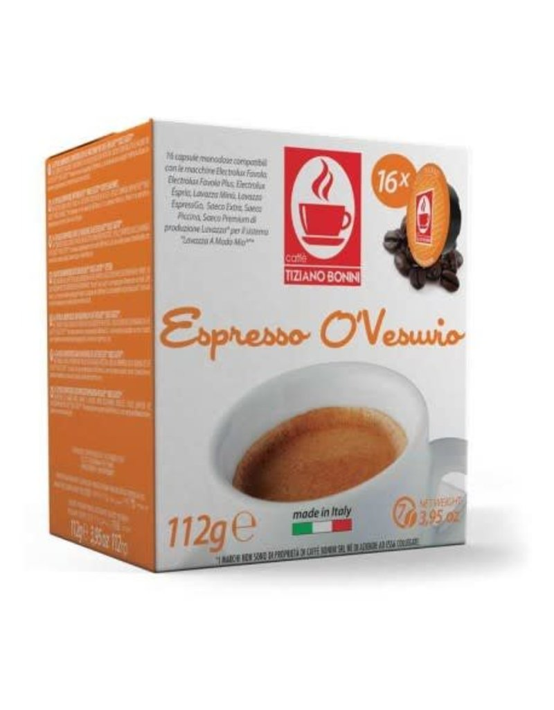 Caffè Bonini LAVAZZA A MODO MIO - O'VESUVIO - 16 capsules
