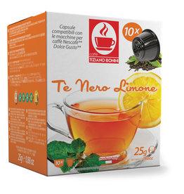 Caffè Bonini DOLCE GUSTO - THÉ NOIR CITRON - 10 capsules
