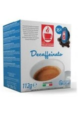 Caffè Bonini LAVAZZA A MODO MIO - DÉCAFÉINÉ - 16 capsules