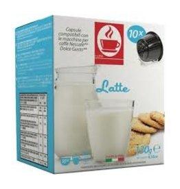 Caffè Bonini DOLCE GUSTO - LAIT - 10 capsules