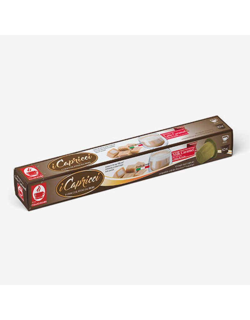 Caffè Bonini NESPRESSO - SHOT CHOCOLAT LAIT CARAMEL - 10 capsules
