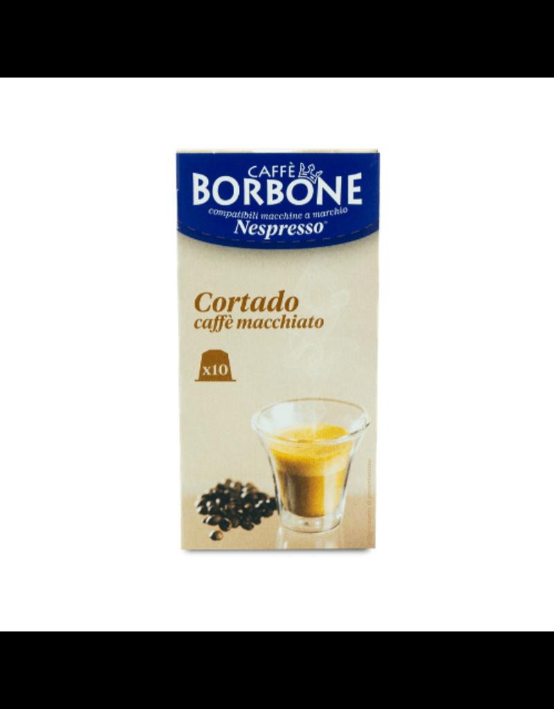 Caffè Borbone NESPRESSO - RESPRESSO CORTADO - 10 capsules BORBONE
