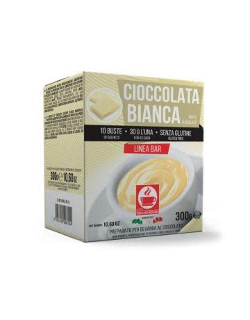 Caffè Bonini Chocolat Poudre Blanc 30gr - 10 sachets