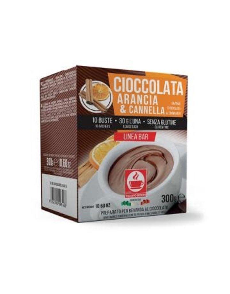 Caffè Bonini Chocolat Poudre Orange-Cannelle 30gr - 10 sachets