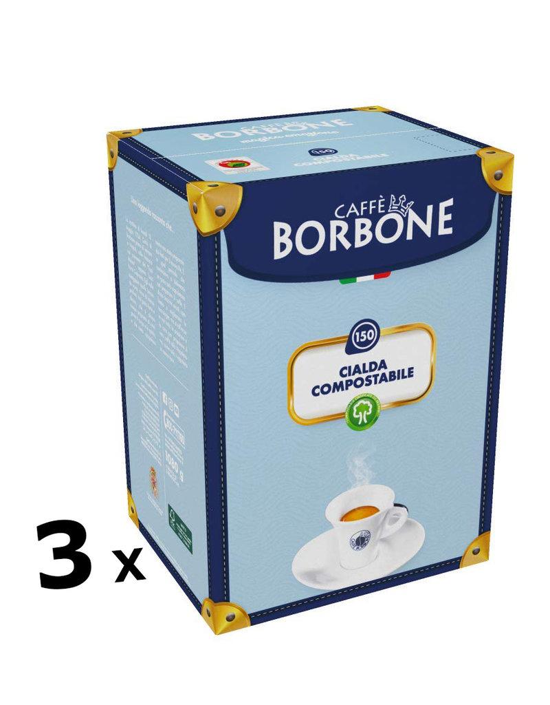 Caffè Borbone ESE44 - BLU - 450 dosettes BORBONE