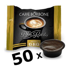 Caffè Borbone LAVAZZA A MODO MIO - DON CARLO ORO - 50 capsules BORBONE