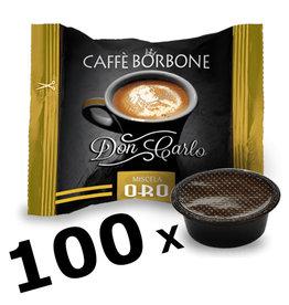 Caffè Borbone LAVAZZA A MODO MIO - DON CARLO ORO - 100 capsules BORBONE
