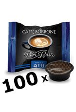 Caffè Borbone LAVAZZA A MODO MIO - DON CARLO BLU - 100 capsules BORBONE