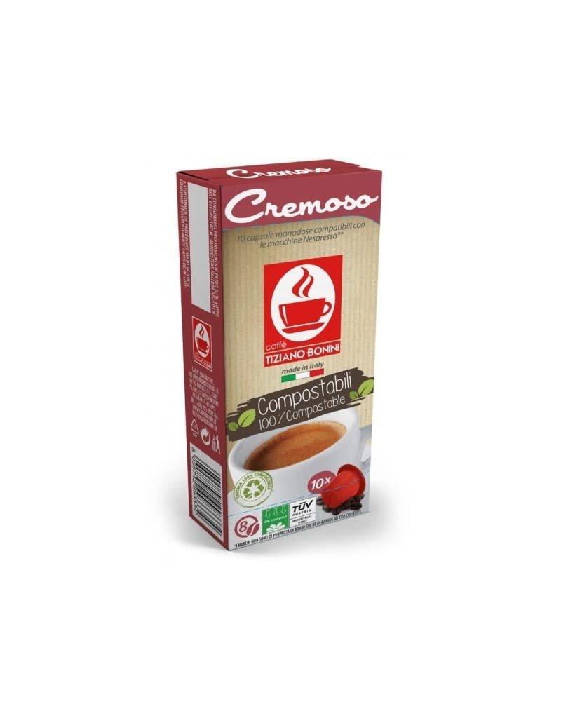 Caffè Bonini NESPRESSO-CREMOSO-10 capsules biodégradables