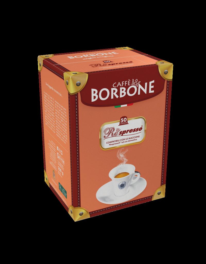 Caffè Borbone NESPRESSO - RESPRESSO  NERA - 50 capsules BORBONE