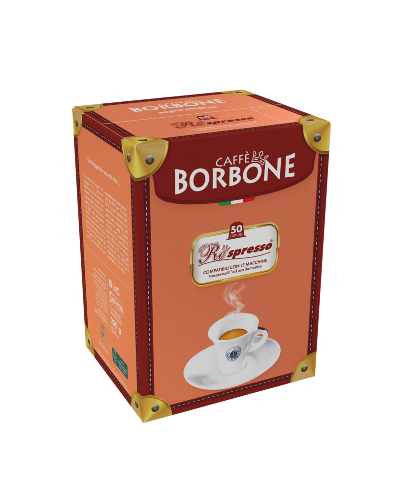 Caffè Borbone NESPRESSO - RESPRESSO  ROSSA - 50 capsules BORBONE