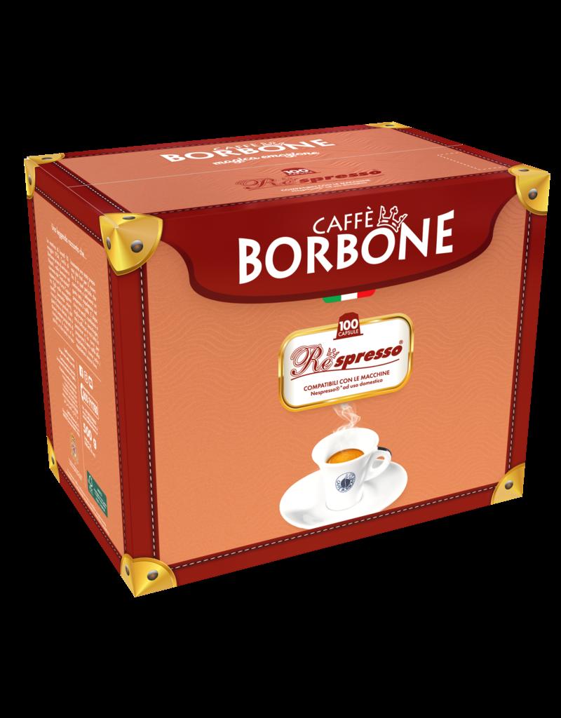 Caffè Borbone NESPRESSO - RESPRESSO  NERA - 100 capsules BORBONE