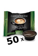 Caffè Borbone LAVAZZA A MODO MIO - DON CARLO DEK - 50 capsules BORBONE
