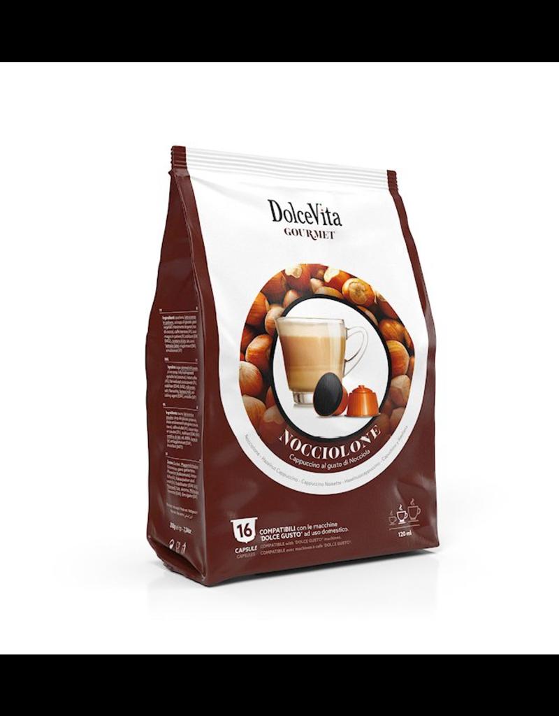 DolceVita DOLCE GUSTO - NOISETTE - 16 capsules (NOCCIOLONE)