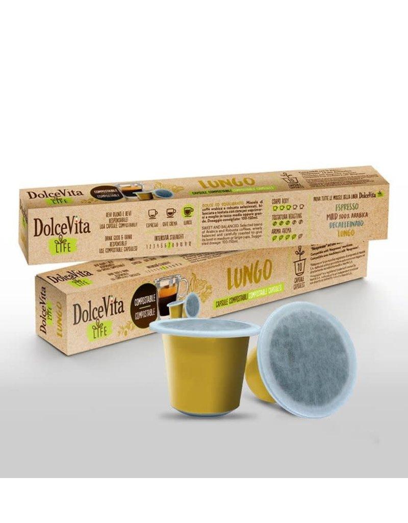 DolceVita NESPRESSO - BIO LUNGO - 10 capsules biodégradables