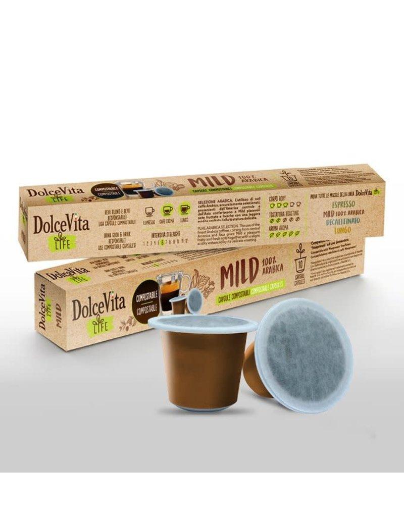 DolceVita NESPRESSO - MILD  - 10 capsules biodégradables