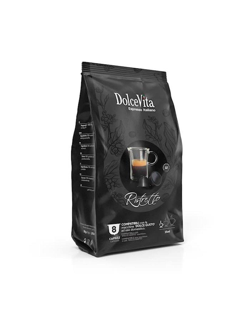 DolceVita DOLCE GUSTO - Café RISTRETTO - 8 capsules