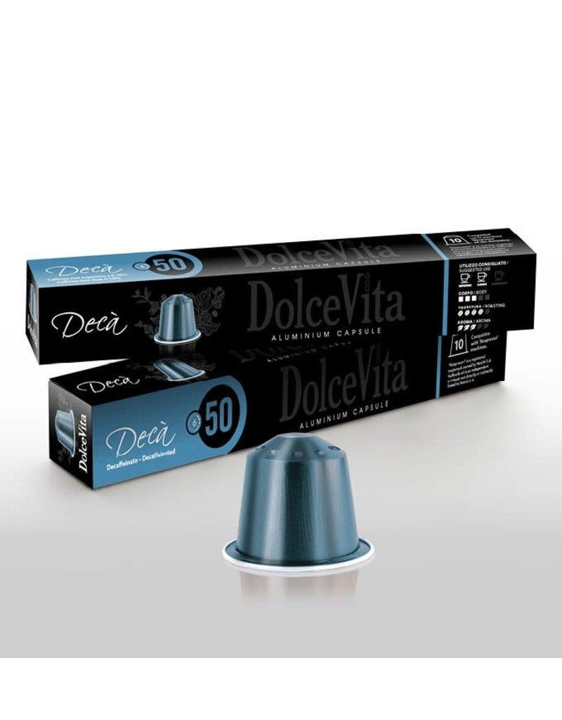 DolceVita NESPRESSO - Café DECÀ - 10 capsules