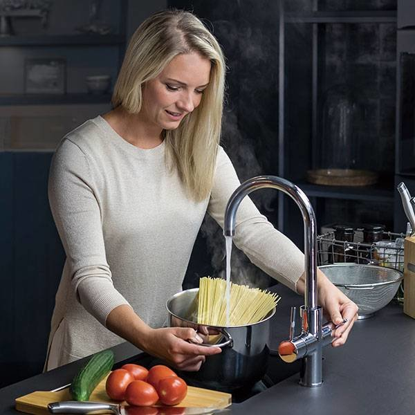 ACE.BOIL, the 3 in 1 instant boiling kitchen faucet
