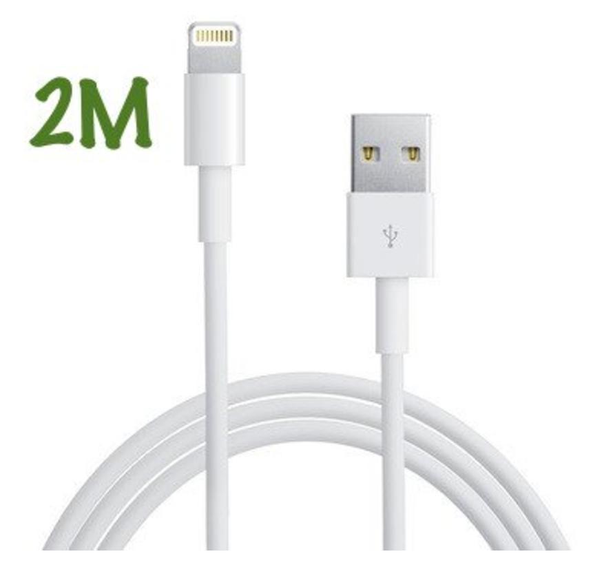 Apple usb lightning kabel (2meter)