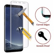 Tempered Glass Screenprotector Samsung Galaxy S8 curved