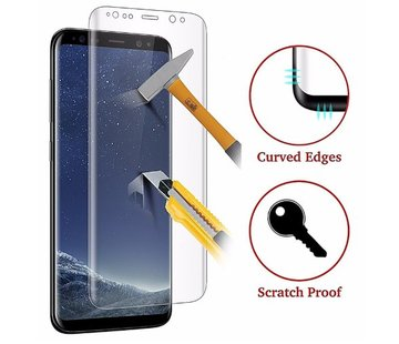 ShieldCase® Tempered Glass Screenprotector Samsung Galaxy S8 curved