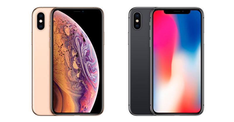 Verschil iPhone X en iPhone XS