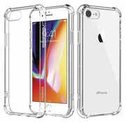 Shock case iPhone 8 transparant / silicone