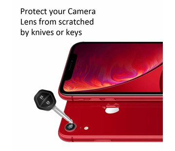 ShieldCase® iPhone Xr camera lens protector (tempered glass)