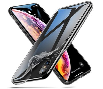 ShieldCase® Ultra thin iPhone X / Xs case transparant silicone