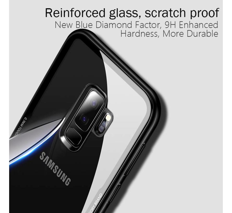 ShieldCase Glass case Samsung Galaxy S9 (wit)