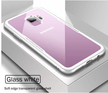 ShieldCase® Glass case Samsung Galaxy S9 (wit)