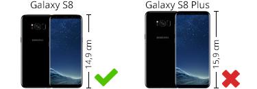 Hoesjes geschikt voor de samsung Galaxy S8
