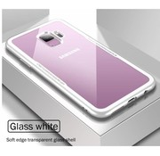 ShieldCase Glass case Samsung Galaxy S8 (wit)