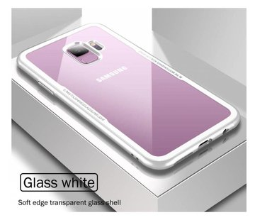 ShieldCase® Glass case Samsung Galaxy S8 (wit)