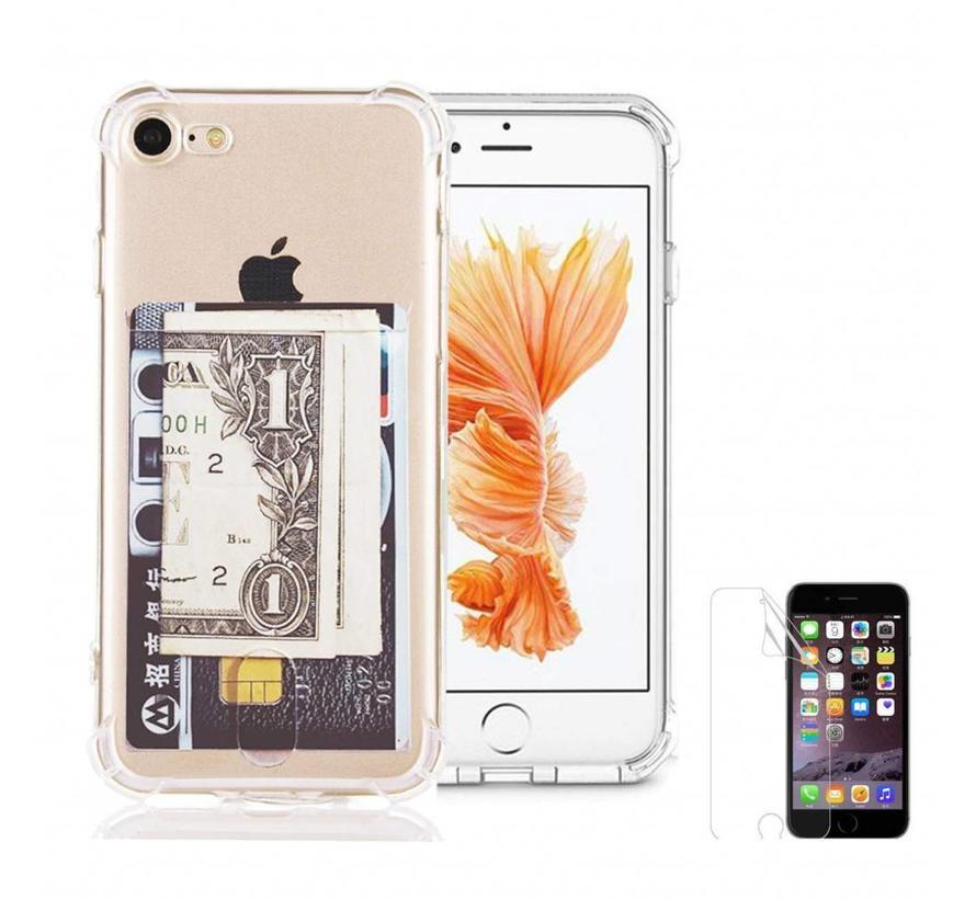 ShieldCase Shock case met pashouder iPhone 7 / iPhone 8