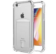 Shock case met pashouder iPhone 7 / iPhone 8