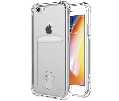ShieldCase ShieldCase Shock case met pashouder iPhone 7 / iPhone 8