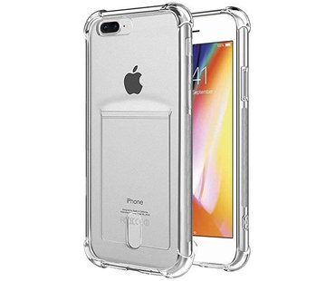 ShieldCase Shock case met pashouder iPhone 7 Plus / iPhone 8 Plus