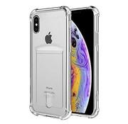 Shock case met pashouder iPhone X / Xs