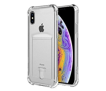 ShieldCase® Shock case met pashouder iPhone X / Xs