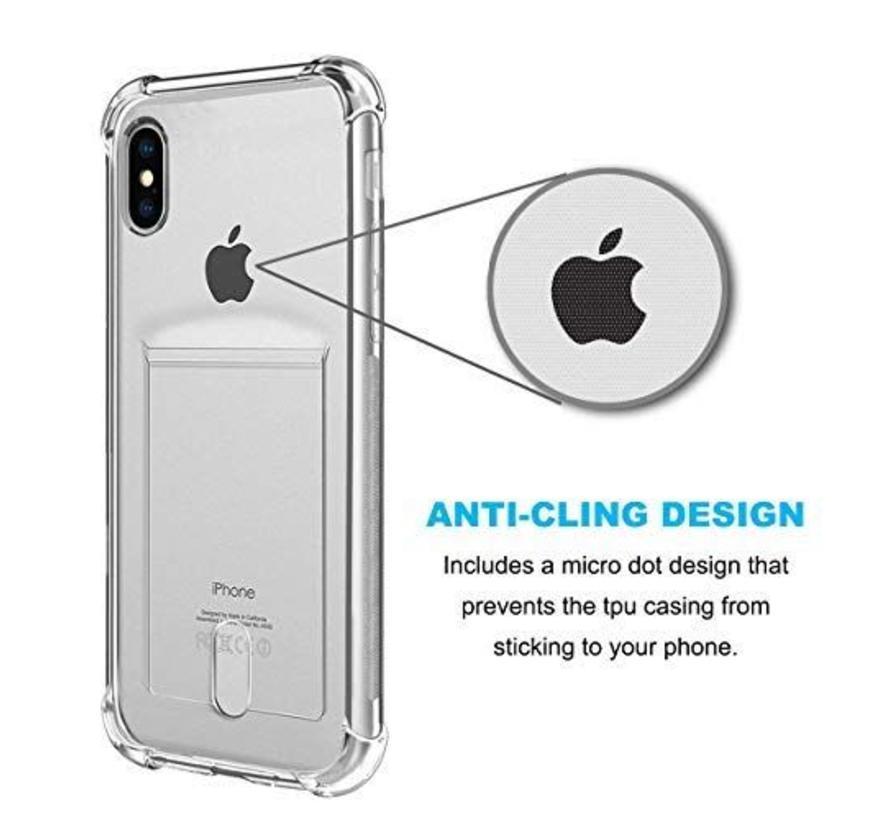 ShieldCase Shock case met pashouder iPhone Xs Max