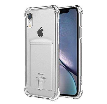 ShieldCase® Shock case met pashouder iPhone Xr