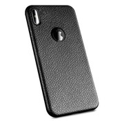 ShieldCase Ultra dun iPhone Xs Max hoesje leer (zwart)
