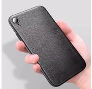 ShieldCase Ultra dun iPhone Xr leren hoesje