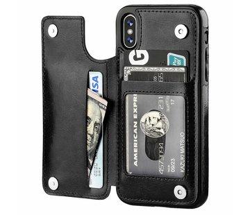 ShieldCase® Wallet Case iPhone X / Xs (zwart)